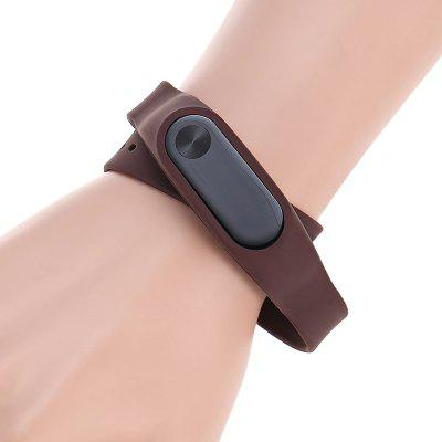 TAMISTER Siliconenvervanging Smart Armband Polsband voor Xiaomi Mi Band 2