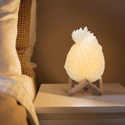 USB Charging 3D Printing Integrated Molding Dragon Egg Night Light
