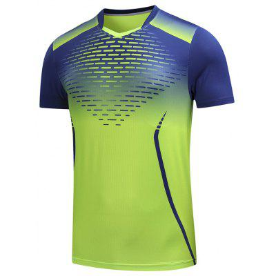 Men's T-shirt Short-sleeved Sports Breathable Quick-drying Printing