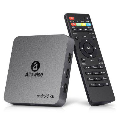 CPU Alfawise A8 NEO Android 9.0 4K TV Box Quad Core