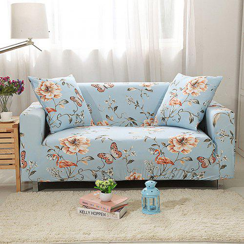Erfly Flower Print Sofa Cover
