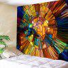 Abstract 3D woondecoratie Tapestry - MULTI-A