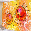 3D Digital Printing Wall Tapestry for Living Room Background Decoration - PUMPKIN ORANGE