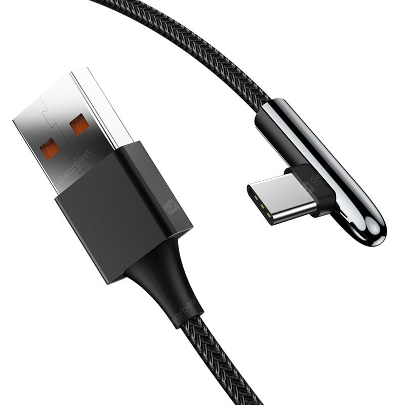 gocomma Elbow Type-C 5A Quick Charging Data Cable