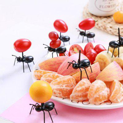 Creative Party Ant Dessert Fruit Fork 12pcs