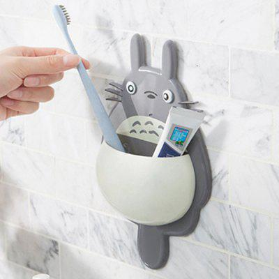 Powerful Suction Multi-function Toothbrush Holder