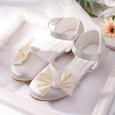 MRLOTUSNEE 503 - 6 High-heeled Dress Bow Girl Shoes