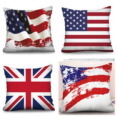 3D Digital Printing Home Bedroom Pillowcase 4pcs