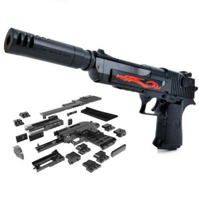 DIY Gun Building Blocks Toy Set