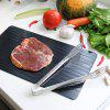 Household Defrosting Tray Fast Thawing Plate - BLACK