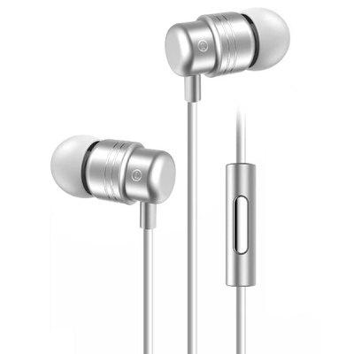 polvcdg W1 Wired Earphone with Mic