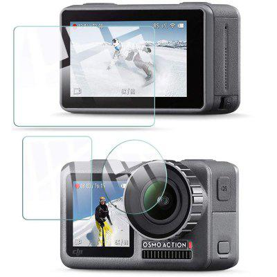 QULLOO Glass Screen Protector Film voor DJI Osmo Action Camera
