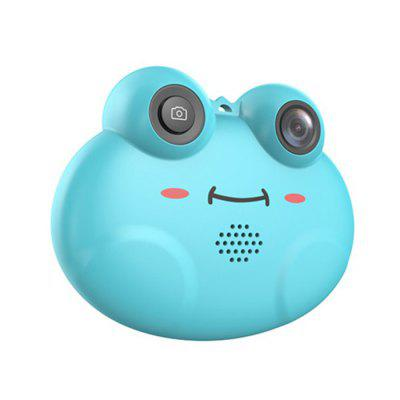 Puzzle Cartoon Frog Child Digital Camera Toy