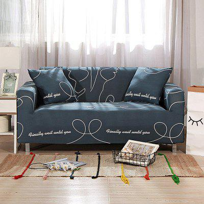 4018775 Line Printed Sofa Cover