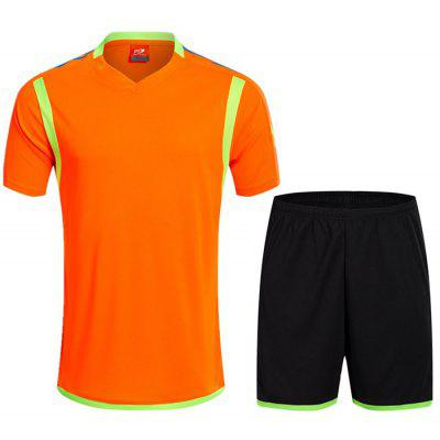 Men's Suit Short-sleeved T-shirt Shorts Fitness Loose Casual Outdoor Quick-drying