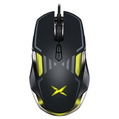 Delux M628 Wired E-Sport Gaming Mouse Maximum 16000DPI