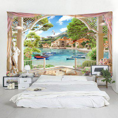 3D Lake Home Decoration Tapestry