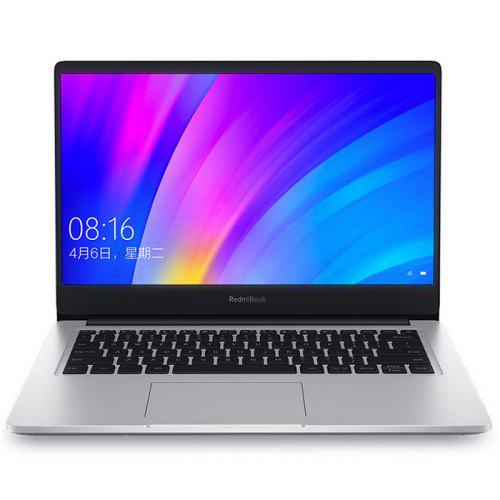 Gearbest Xiaomi RedmiBook Laptop - Silver 8GB RAM 512GB SSD 14 inch Windows 10 OS Intel Core i5-8265 Quad Core 1.6GHz CPU
