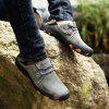 AILADUN Men's Outdoor Full Grain Leather Casual Shoes Large Size - GRAY