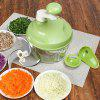 Keouke A138 - 2 Home Kitchen Multi-function Mixer Food Chopper - GREEN