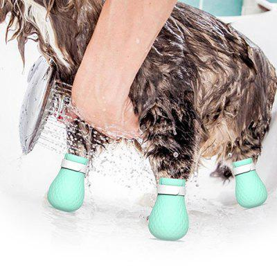 Multi-functional Pet Anti-scratch Cat Bathing Shoes 4pcs