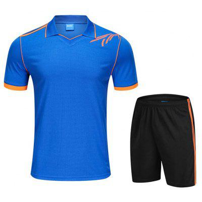 Men's Sportswear Suit Short-sleeved T-shirt Quick-drying Tennis Shorts