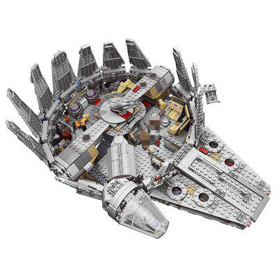 79211 Spaceship Children Puzzle Montowane Building Block Toys 1381szt