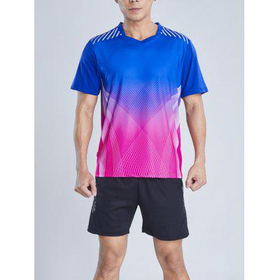 Male Outdoor Sports Short Sleeve Breathable And Quick-drying