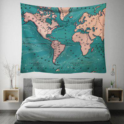World Map Creative Home Art Decoration Tapestry