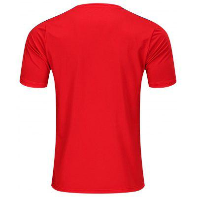 Men's Breathable And Quick-drying Short-sleeved T-shirt Printing Campaign