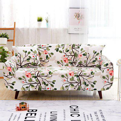 Flower Tree Print Sofa Cover