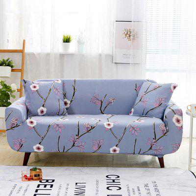 3741423 Plum Print Sofa Cover