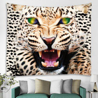 3D Digital Tiger Printing Background Decoration Cloth Wall Tapestry