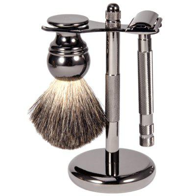Men Shaving Tool Beard Brush Set