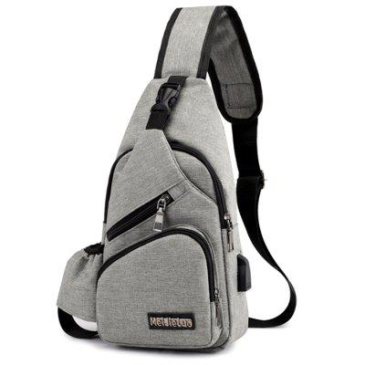 Men's Casual Oxford Outdoor Sports Crossbody Bag
