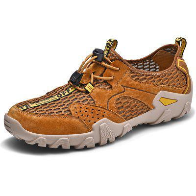 AILADUN Men's Hollow Out Breathable Casual Shoes