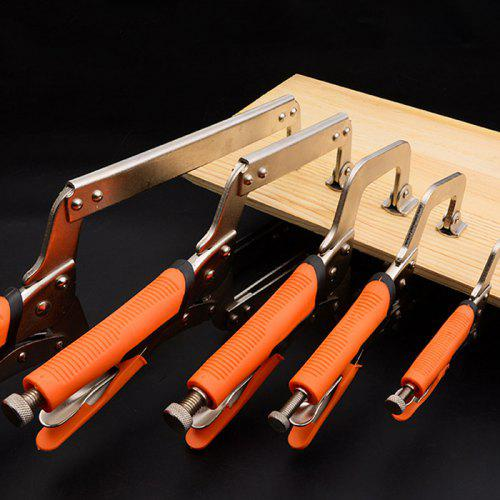Steel C Type Clip Vise Grip Locking Plier Multi Function Woodworking Clamps