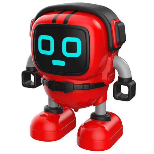 Gearbest JJRC R7 Gyro Pull Back Robot Children Educational Toy - Red