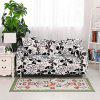 Black Cover Butterfly Print Sofa Cover - MULTI-A