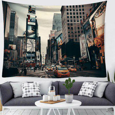 City Street Creative Home Art Tapestry
