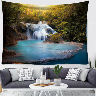 Waterfall Landscape Druk cyfrowy 3D Creative Home Art Decoration Tapestry