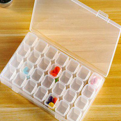 28 Grid Detachable Household Storage Box
