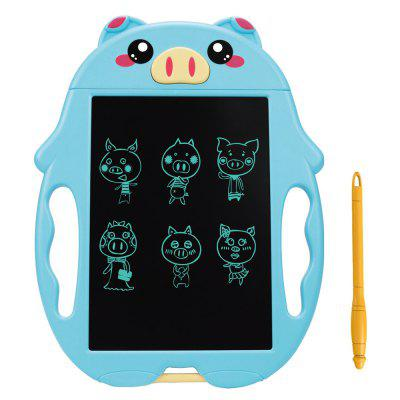 9 palcov Cartoon Tablet LCD Board Malý Blackboard