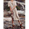 Women's Dress Solid Color Casual Breathable - TAN