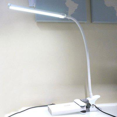 8113 USB 5V 5W 400lm Dimming Color LED Clip Type Table Lamp