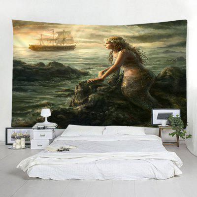 Mar Mermaid Decor Fashion Tapestry