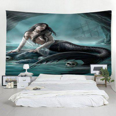 Beach Fashion Home Decor Mermaid gobelin