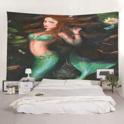 Frumoasa Mermaid Decorative Tapestry