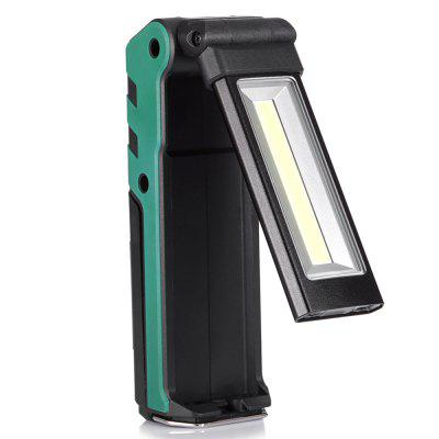 USB Rechargeable Flashlight Portable Folding Magnet Inspection Light