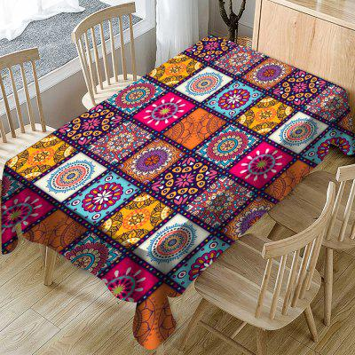 Fashion Printed Polyester Waterproof Tablecloth